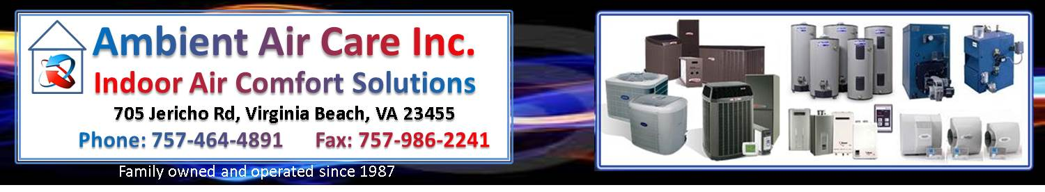 Ambient Air Care Heating and Air Conditioning